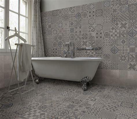 grey patterned bathroom floor tiles creative feature flooring for bathrooms tile mountain