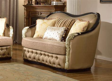 traditional curved sofa lafayette traditional curved beige sofa loveseat with
