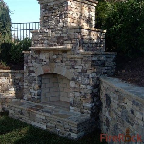 Firerock Masonry Fireplace Kits by 17 Best Images About Outdoor Fireplace Pictures On Landscaping Fireplaces And