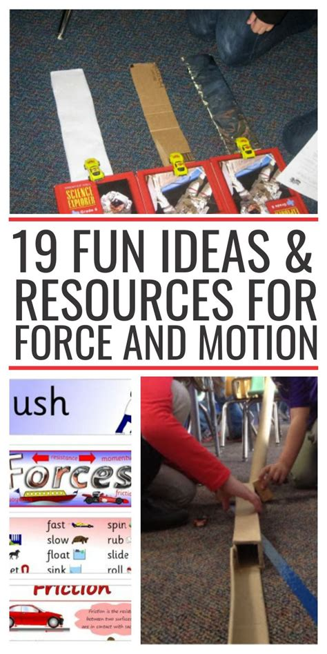 On Science Forces And Motion 4th grade science projects and motion 1000 ideas