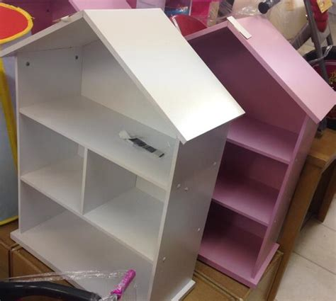 pink and white dollhouse bookcase catalogue returns on twitter quot mia pink white dolls house