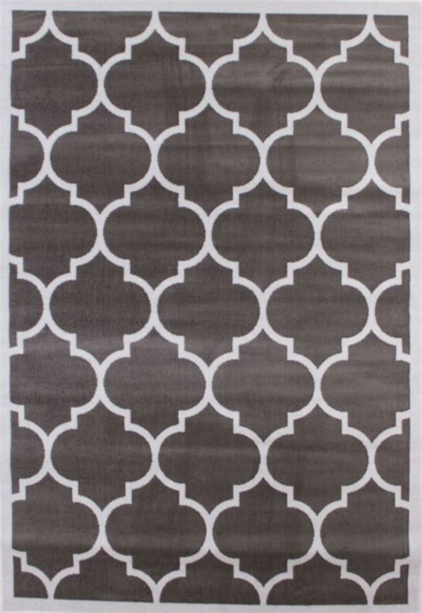 Large Modern Rugs Large Modern Geometric Moroccan Trellis Thin Carpet Contemporary Soft Area Rug Ebay