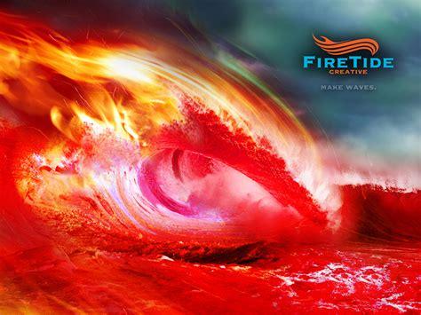 firetide creative fire wave wallpaper martin merida design