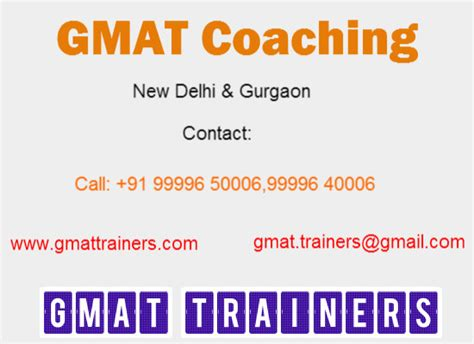 Gmat Mba Coaches by Gmat Coaching Centre Institute West Delhi Archives