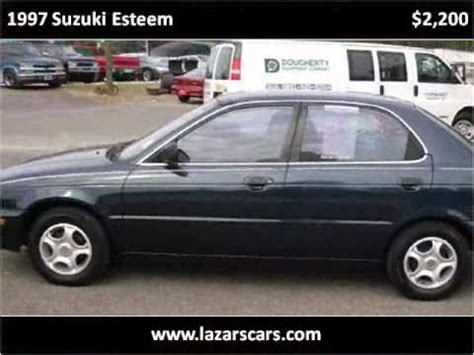 how does cars work 1997 suzuki esteem auto manual 1997 suzuki esteem used cars martinez ga youtube