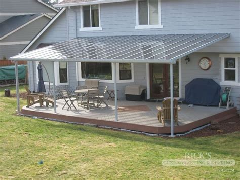 metal deck covers awnings best 25 aluminum patio covers ideas on pinterest metal