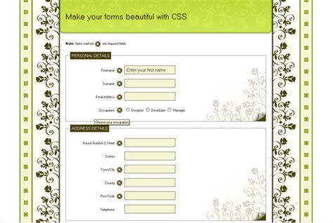 tutorial design web css gossip to gossip form s posted by umesh shejole