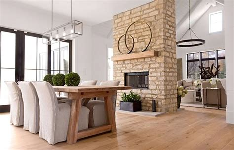 22 sided fireplaces in dining rooms home design lover