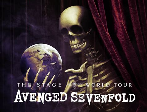 Avenged Sevenfold The Stage avenged sevenfold the stage world tour 2018 cid