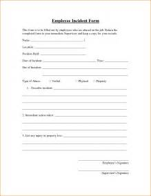 Free Incident Report Form Template by Doc 11961548 Free Report Form Template
