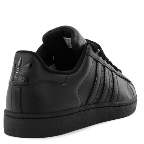 adidas superstar 2 0 ii all black leather classic