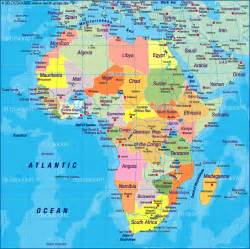 Africa World Map by Map Of Africa Map Of The World Political Map In The