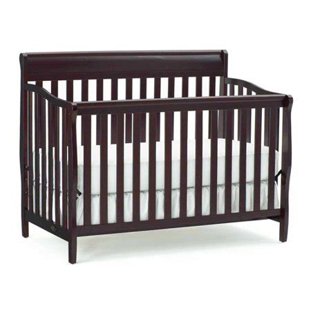 graco stanton 4 in 1 convertible crib espresso walmart