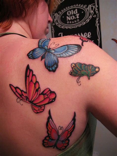 butterfly shoulder tattoo october 2010 at today