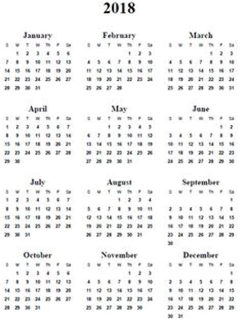 Calendar 2018 A4 2018 Calendar Australia Yearly Calendar Printable