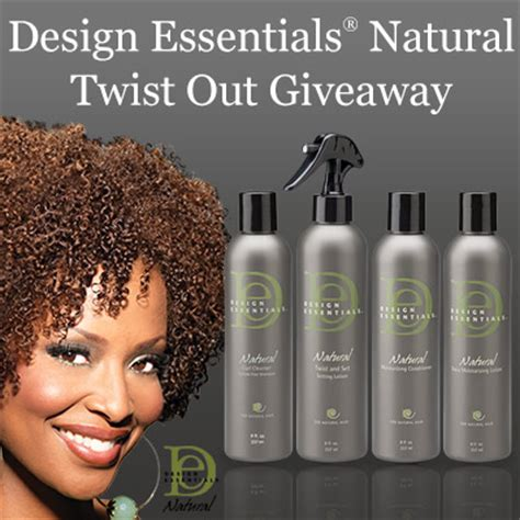 natural hairstyles with design essentials i just entered design essentials 174 natural twist out