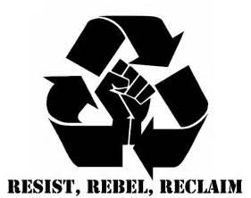 Graffiti stencil resist rebel reclaim