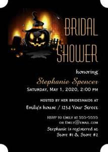 halloween bridal shower invitations halloween bridal shower invitations wedding invitations