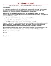 Audit Assistant Cover Letter by Assistant Auditor Cover Letter Jianbochen