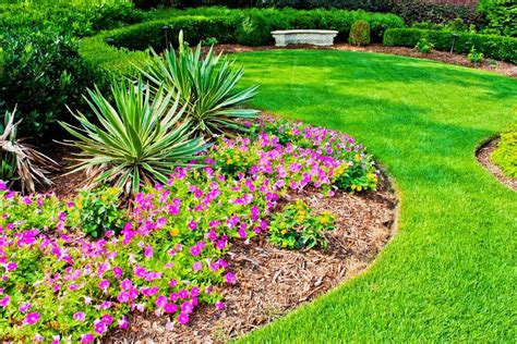 Flower Gardens Ideas Simple Flower Garden Designs Homefurniture Org