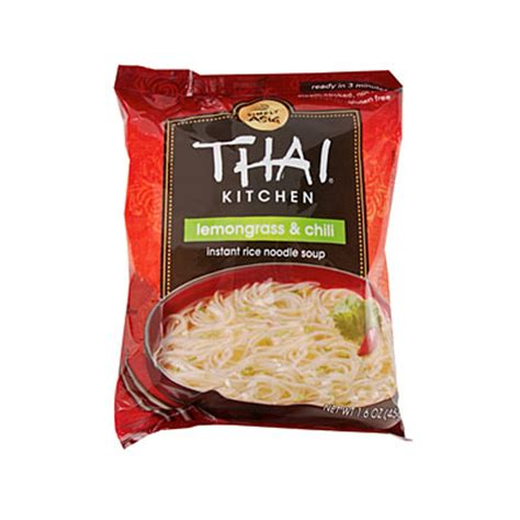 thai kitchen 174 lemongrass and chili instant rice noodle