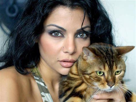 because she s worth it haifa wehbe gives long locks the