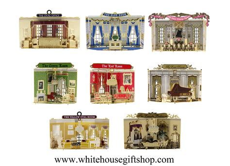 rooms of the white house the rooms of the white house ornament collection 1 to 8 is an ongoing series of the