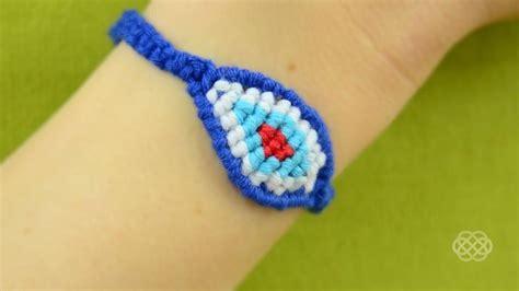 Macrame How To Make - how to make a macrame eye bracelet 171 jewelry