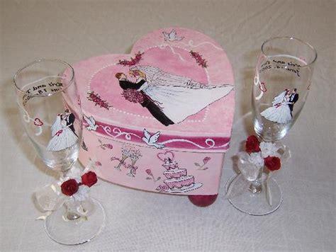 scatole per bicchieri sposi bicchieri per il brindisi e scatole ricordo