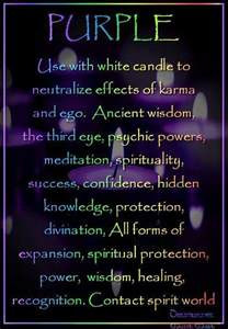 violet color meaning purple candle magick a la luz de una vela
