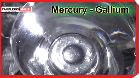 gallium gallium metal pieces gallium mercury vs gallium mixed do they up