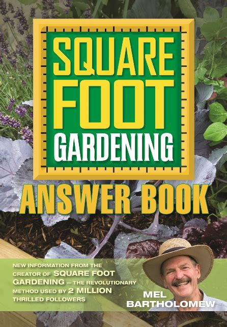 Square Foot Gardening Book by Square Foot Gardening Answer Book