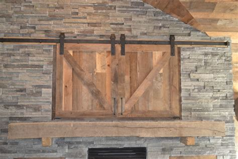 Reclaimed Wood Fireplace Mantels by Wood Log Fireplace Mantels Enterprise Wood Products