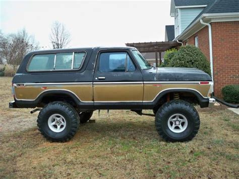 find used 1978 ford bronco in boiling springs south