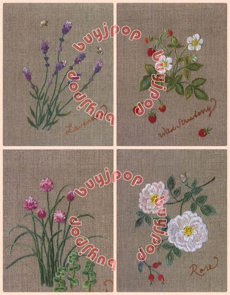 pattern language ebay chinese japanese embroidery craft pattern book my herb