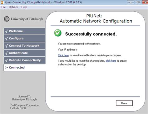 pitt technology help desk pittnet wireless prepare your computer to use wireless