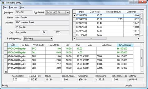 Payroll Section by Payroll Expenses
