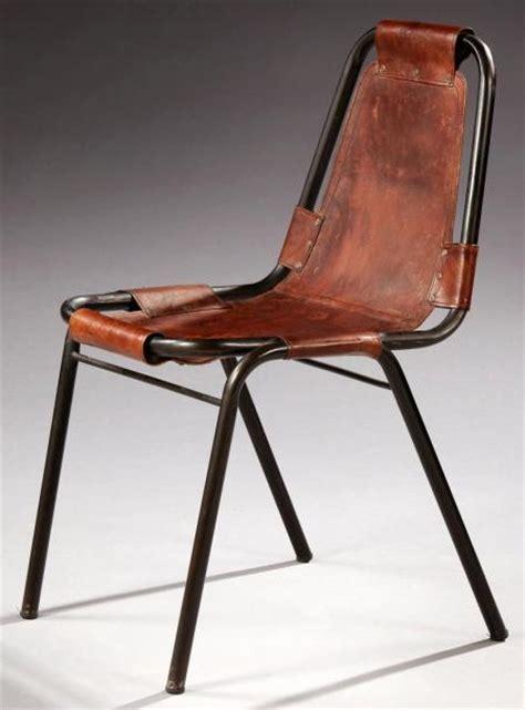 chaise perriand perriand pour les arcs suite de six chaises 224