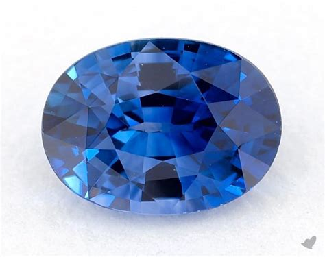 Blue Sapphire 84 gemstones blue sapphire 0 84 carat oval sku 20440