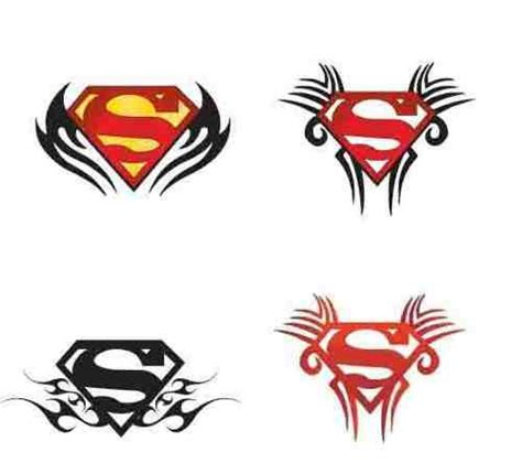 superman tribal tattoo designs 12 awesome superman designs and ideas