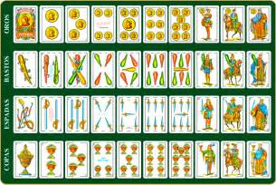 Baraja de cartas espa 241 ola al mus se juega sin 8 s y sin 9 s