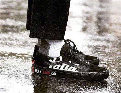 Sepatu Vans X Patta 9月25日発売 beams限定 patta x vans skool eyed cat 裏原ブランド