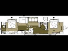 2 bedroom travel trailers 2013 wildwood dlx 4002q 2 bedroom 2 bathroom 43 travel trailer youtube
