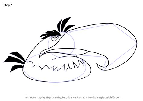 angry birds mighty eagle coloring pages learn how to draw mighty eagle from angry birds angry