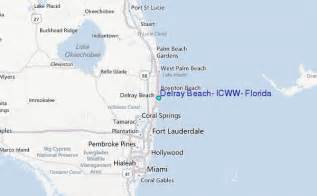 where is delray florida on the map delray icww florida tide station location guide