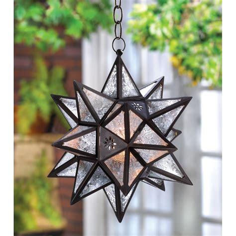 moroccan style hanging hanging moroccan star lantern wholesale at koehler home decor