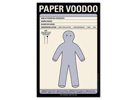 How To Make A Paper Voodoo Doll - knock knock sweet talk nifty pad novelty notes cashco1000
