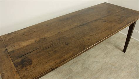 Antique Farmhouse Table Antique Walnut Farmhouse Table Two Plank Top At