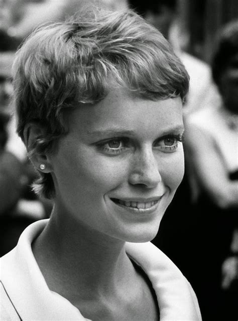 pixie cut from 1960 30 beautiful portraits of mia farrow with pixie haircut in