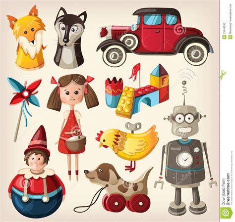 imagenes de juguetes vintage jouets de vintage pour des enfants photo stock image